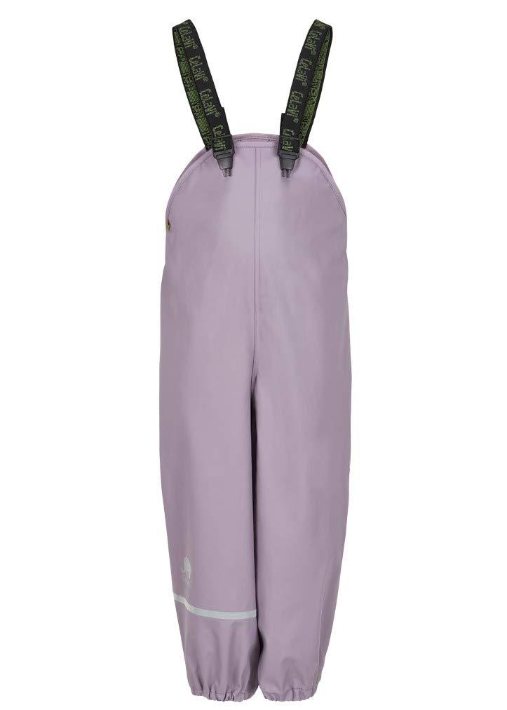 Celavi - Pantalón Impermeable con Forro Polar para niños, Color Lila Claro 1