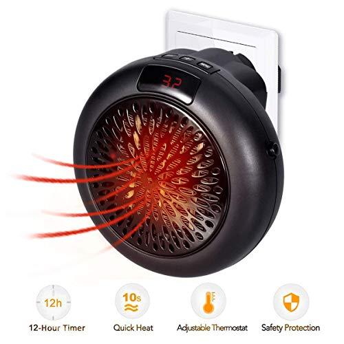 Minihaushalts-elektrische Heizung tragbare geführte Temperaturanzeige-elektrische Heizung, um Überhitzung zu verhindern, automatische Abschaltung ohne Geräusche
