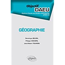 Géographie Objectif DAEU A
