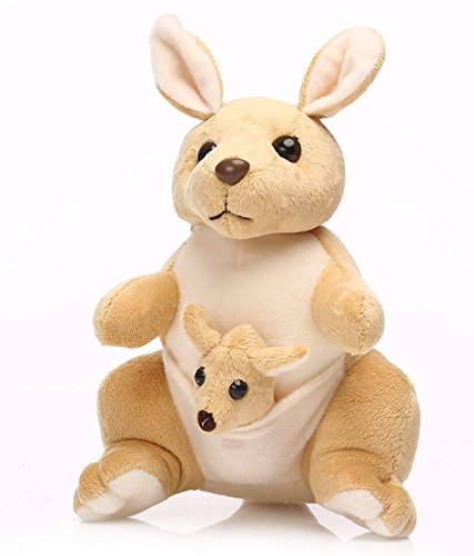 Deals India Mother and Baby Kangaroo, Beige