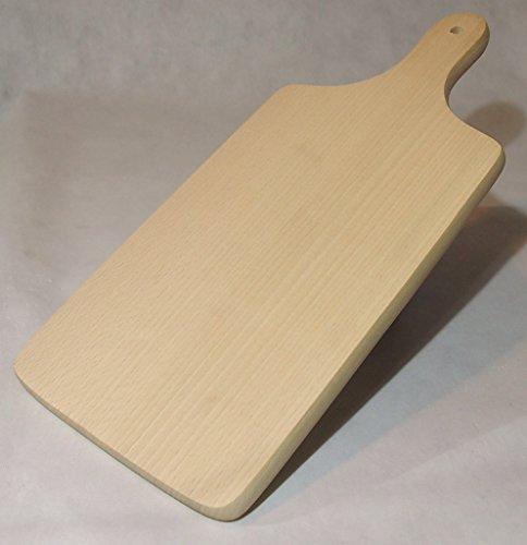Tagliere tagliere in legno di faggio Boards, Legno, Natural Beech Wood, 40.5x19x1.5cm