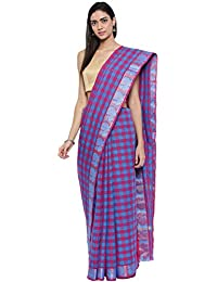 CLASSICATE From the house of Classicate From The House Of The Chennai Silks - Chettinad Cotton Saree - Multicolor - (CCMYSC9318)