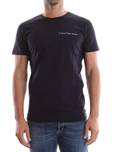 Calvin Klein Jeans Typoko Slim CN Tee SS T- T-Shirt Homme