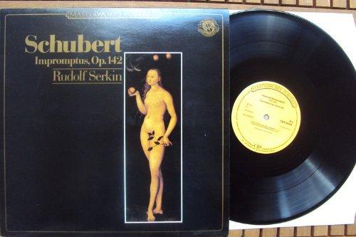 Impromptus op. 142. Rudolf Serkin. Masterworks Stereo