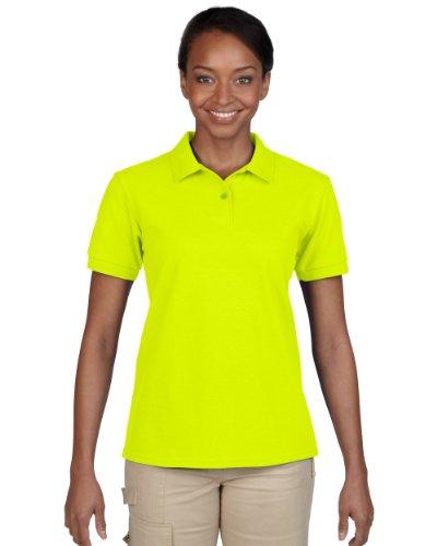 Gildan Gildan Trockene Mischung Polo-Shirt Ringe für Frauen-12-mehrere Farben-Größe 10-18, rot S