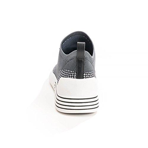 Kendall and Kylie Kkbrandy5, Scarpe da Ginnastica Basse Donna Multicolore (Black+white+grey/black Knit 000)