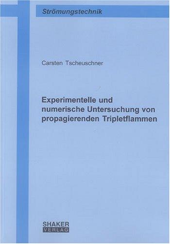 Experimentelle und numerische Untersuchung von propagierenden Tripletflammen (Berichte aus der Strömungstechnik)
