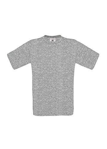 10 B&C T-Shirts Exact 190 kurzarm T-Shirt S-3XL in verschiedenen Farben BCTU004 Large,Sport Grey - Ash Grau Kapuzen-sweatshirt