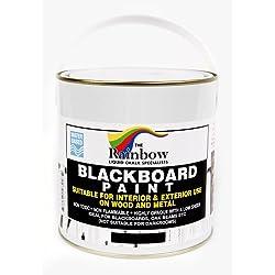 Peinture pour tableau noir - 1 litre Idéal pour créer ou restaurer les tableaux noirs