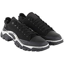 Sneaker Adidas By RAF Simons Detroit Runner in Tela Nera 80ffcf5e2d3