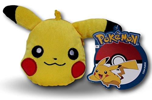 Monedero Llavero Pikachu 20cm Peluche Pokémon Go Amarillo Muñeco Original Nintendo