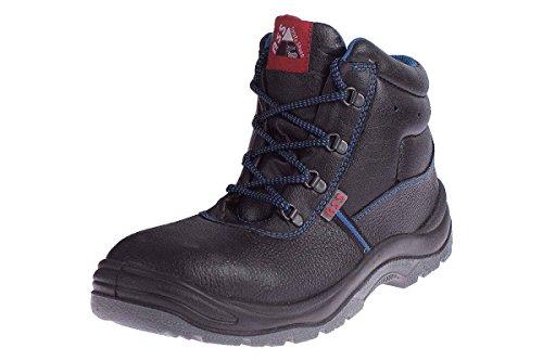 ASS® Herren Sicherheitsschuhe S3 SRC - Echt Leder - Stahlkappe Größe: 47 (Schuhe Ass)