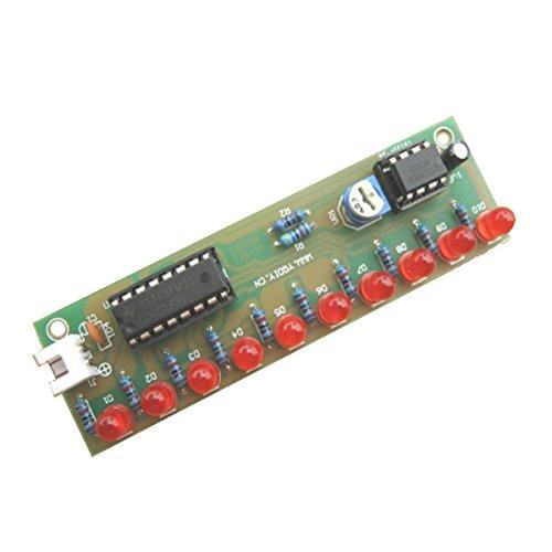 Preisvergleich Produktbild Bluelover Ne555 + Cd4017 Led-Blitz Diy Installationssatz 3-5V Helles Led-Modul