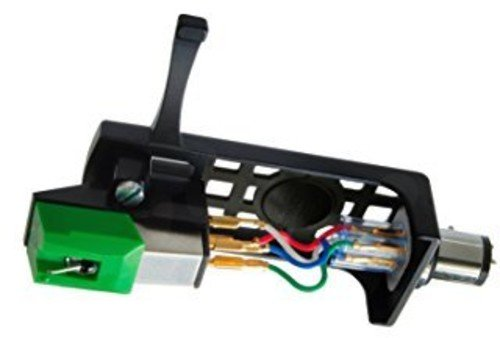 Kartusche Combo Kit AT95E/HSB, Kombinationskit grün (Audio-technica Tonabnehmer)