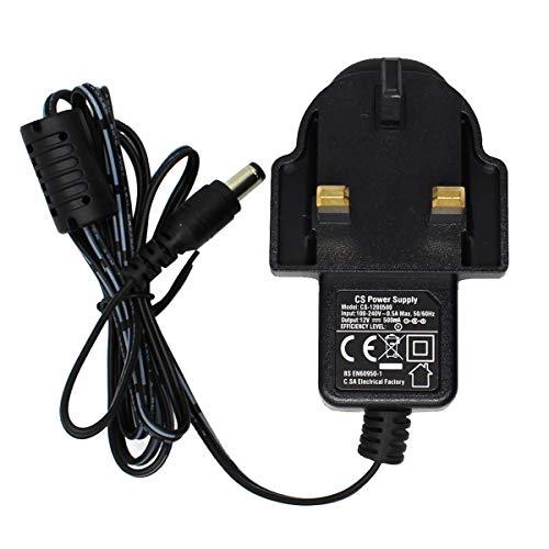 Price comparison product image AC 100-240V to DC 12V 0.5A Power Adapter Supply 5.5mm x 2.1mm for CCTV Cameras DVR NVR LED Light Strip UK CE BS