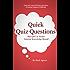 Quick Quiz Questions Pub Quiz At Home: General Knowledge Round