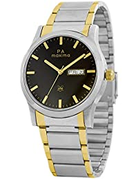 Maxima Attivo Day-Date Black Dial MEN -O-46931CMGT