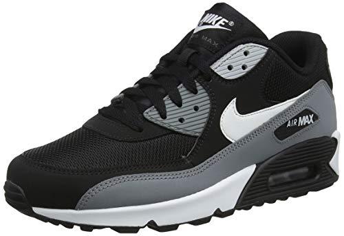 new concept 25a4d 3ad6c Nike Air MAX 90 Essential, Zapatillas de Gimnasia para Hombre, Negro (Black