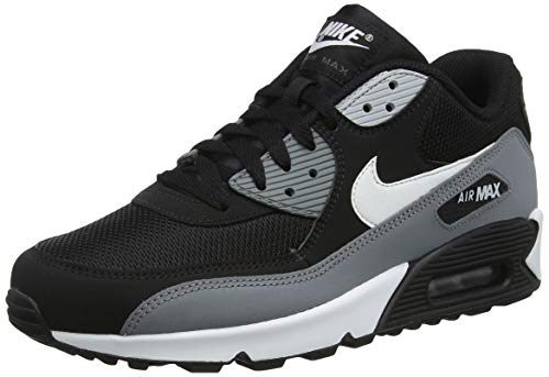 new concept a41f1 074b8 Nike Air MAX 90 Essential, Zapatillas de Gimnasia para Hombre, Negro (Black