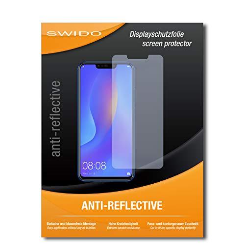 SWIDO Bildschirmschutz für Huawei Nova 3i [4 Stück] Anti-Reflex MATT Entspiegelnd, Hoher Härtegrad, Schutz vor Kratzer/Glasfolie, Schutzfolie, Bildschirmschutzfolie, Panzerglas Folie