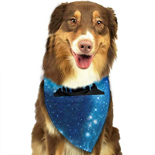 Sdltkhy Portland Oregon Fashion Dog Bandana Haustierzubehör Easy Wash Scarf