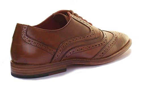 De Mick La De Vestir Humana Zapatos Cordón Justin Del Reece Piel n0aq7wxC6