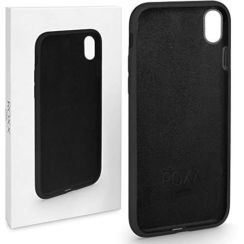 ROXX Hard Case Silikon Hülle | Kompatibel mit Apple iPhone XR | Wie das Original nur Besser | Testsieger Robustes Hard Case