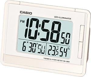 Casio Reloj Despertador Dq-980-7D de CASIO