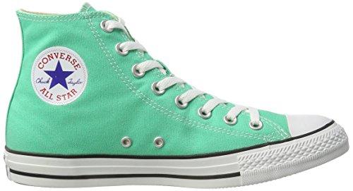 Converse Mens Ctas Hi Sneakers Green (menta)