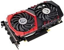 MSI GeForce GTX 1050 Ti Gaming X 4G Scheda Grafica, Interfaccia PCIe 3.0, 4 GB GDDR5, 128bit, 768 Cuda Cores, 229 x 131 x 39 mm, Nero