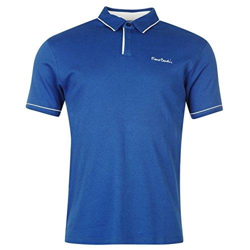 pierre-cardin-camisa-borde-blanco-polo-camiseta-de-polo-de-manga-corta-para-hombre-casual-camiseta-t