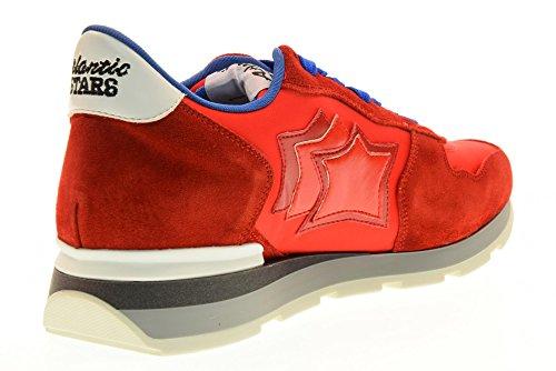 Atlantic Stars Scarpe Uomo Sneakers Basse Antares RRA 63B Rosso