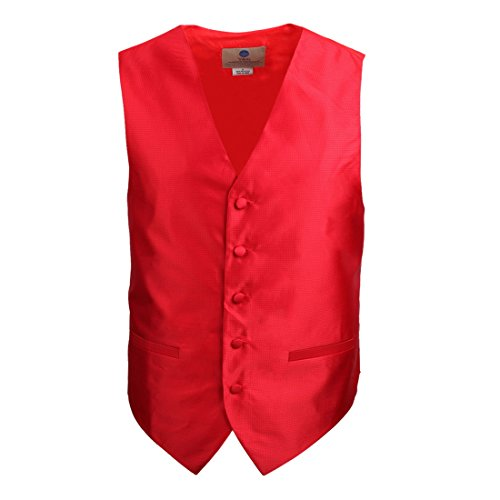 Y&G VEST SET - Smoking -  Homme Rouge Rouge VS1005-Rouge