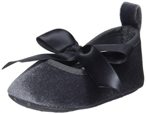 ZIPPY Baby Mädchen Bailarinas Pre-Walker Ballerinas, Grau (Charcoal Gray 18-0601 TC), 16/17 EU -