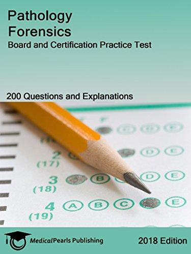 Pathology Forensics: Board And Certification Practice Test por Medicalpearls Publishing Llc epub
