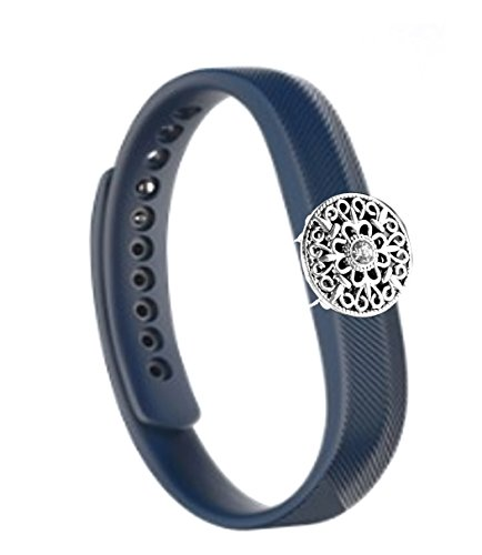 Oem-flex Band (Fashion Fitness Band Bling jewelry Accessory charm for fitbit FLEX 2- Fitness Tracker (ONLY bling accessory, no bands, NO TRACKERS))