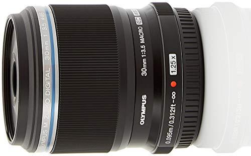 Olympus M. Zuiko Digital ED 30mm 1:3.5 Macro für Micro Four Thirds Objektivbajonett schwarz Olympus Micro Four