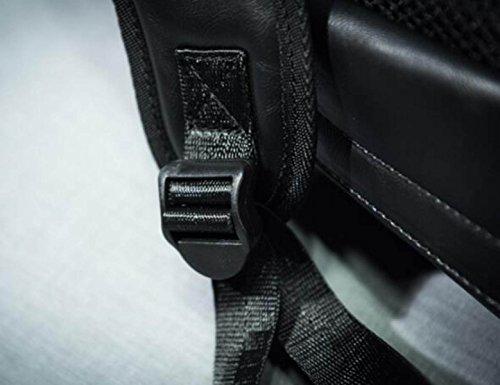 FZHLY Spalla Uomo Casual Borsa Coreana Zaino Da Viaggio Moda,ZipperBlack ZipperBrown