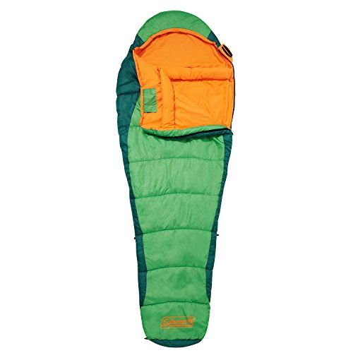 41DHOSRztzL. SS500  - Coleman Sleeping Bag Fision 100/200, Single Mummy Sleeping Bag, Indoor & Outdoor, Lightweight & Compact, For Adults