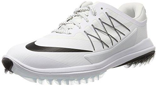 Nike 849979-100, Chaussures de Golf Femme, Blanc (White/Black), 37.5 EU