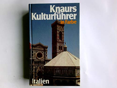 Knaurs Kulturführer in Farbe Italien.
