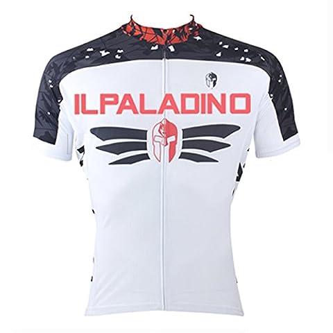 ilpadino Herren Short Sleeve Jersey + gepolsterte Shorts Set XXL 006-Short Jersey-Men