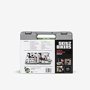 SkitzBikers 7176-7 Caja Herramientas Bicicleta, Gris, Talla Única