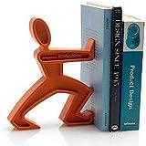 JAMES le serre-livres ajoute une note d'humour anglais à nos bibliothèques - déco et design - Orange