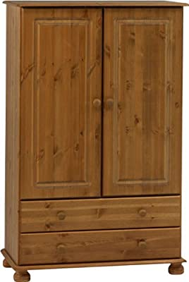 Steens Richmond Combi Pine Wardrobe - low-cost UK wordrobe store.