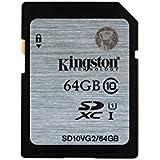 Kingston SD10VG2 UHS-I SDXC, 64GB, Class10, Speicherkarteteller