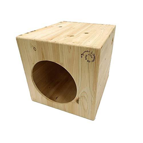 Hund / Katze Haus , Indoor Wooden , Ist Ein MäRchen Aus Holz Kennel FüR Ihre Katze Oder Hund. Mit Einer Dachterrasse Und Einem GemüTlichen Schlafzimmer Ist Es Ein Zuhause FüR Anspruchsvolle Katzen U