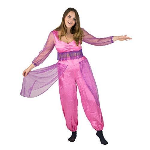 Bodysocks® Bauchtanz Tänzer Kostüm für Damen (Small) (Arabische Kostüm Männliche)