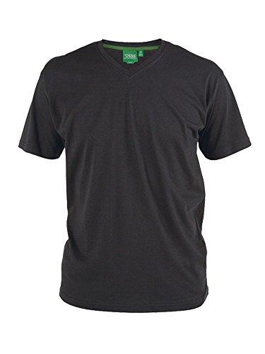 DUKE D555 Herren T-Shirt Schwarz