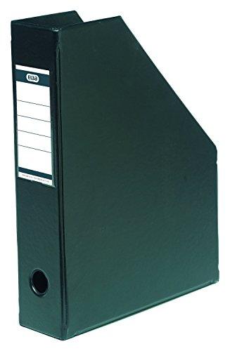 "ELBA 100400624 Stehsammler \""myColour\"" aus PVC, A4, 7 cm breit, Zeitschriftenbox, schwarz, 5 Stück"